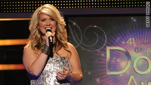 Natalie Grant, who won the Dove award for female artist of the year in 2006 to 2009, runs the Home Foundation.