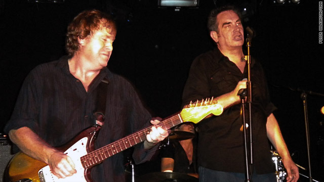 Stage presence: Mark Stewart and guitarist Gareth Sager made for a mesmerising performance.