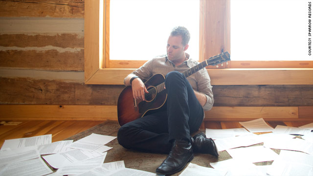 Christian music singer Matthew West spent two months in an isolated cabin, writing songs based on stories sent in by his fans.