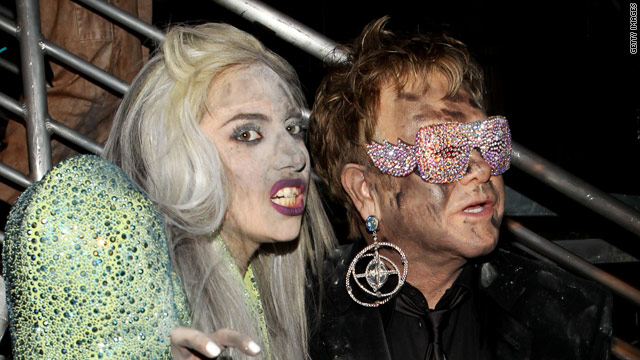 Lady Gaga, Elton John record song for Disney movie - CNN com