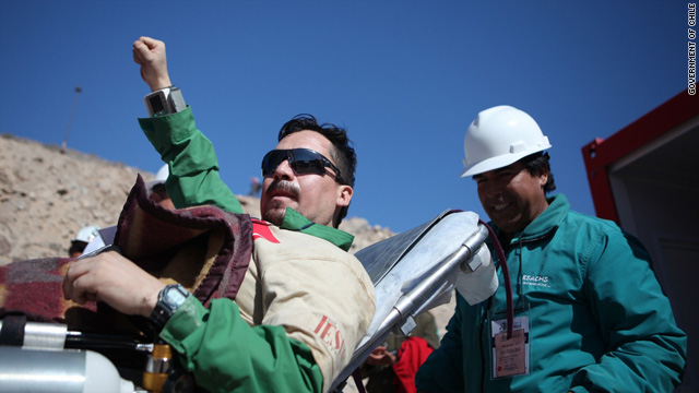 Chilean miner Edison Pena was nicknamed &quot;The Runner,&quot; because he jogged to Elvis Presley's music while trapped underground.