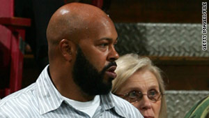 "Marion ""Suge"" Knight (shown here in 2007) had a warrant issued for him because he hadn't shown up in court."