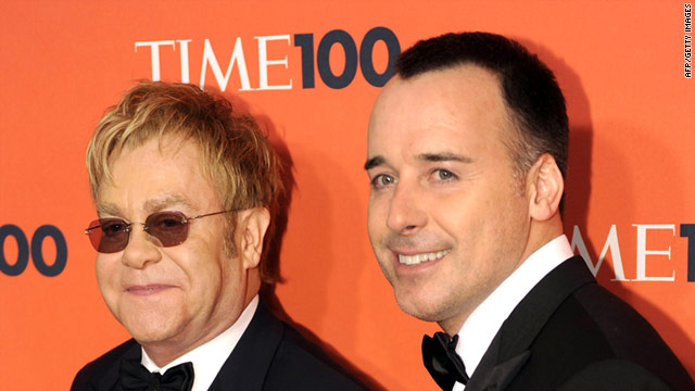 Sir Elton John and David Furnish are fathers of a baby born on Christmas Day.