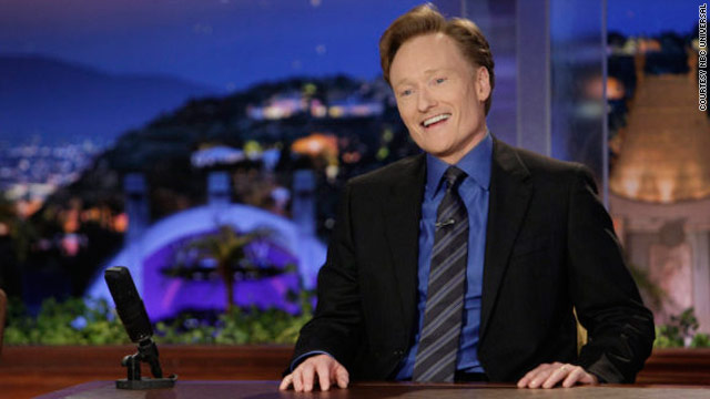 Conan O'Brien's ratings for &quot;The Tonight Show&quot; have spiked during NBC's late night shuffle.