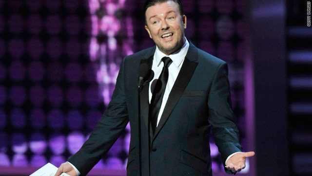 Ricky Gervais is definitely one of the reasons the Golden Globes tops the Oscars.