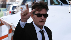 Charlie Sheen faces charges of second-degree assault, menacing and criminal mischief.