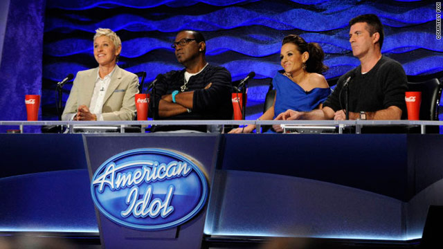 "Fans have had plenty to say about Ellen DeGeneres' performance as the new judge on ""American Idol."""