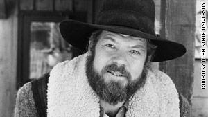 """Merlin Olsen portrayed Jonathan Garvey on """"Little House on the Prairie"""" from 1977 to 1981."""