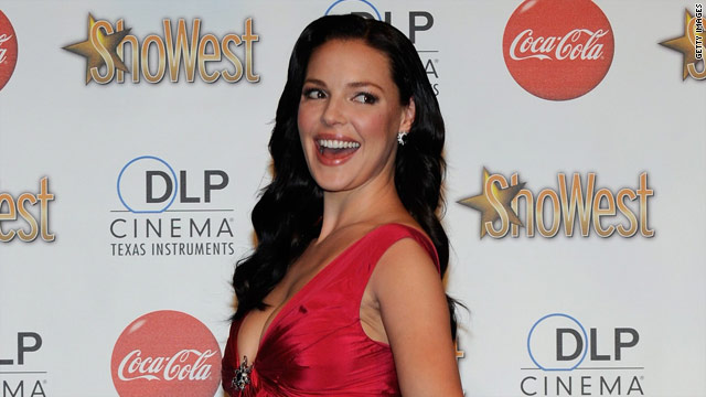 """Katherine Heigl's publicist says she's leaving """"Grey's Anatomy"""" to spend more time with her newly adopted daughter."""