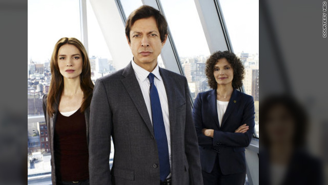 "Saffron Burrows, Jeff Goldblum and Mary Elizabeth Mastrantonio will now be the stars of ""Law & Order: Criminal Intent."""