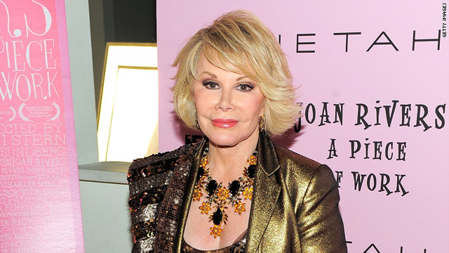 "After this week's release of ""Joan Rivers: A Piece of Work,"" Rivers is poised to become the Next Belated Big Thing."