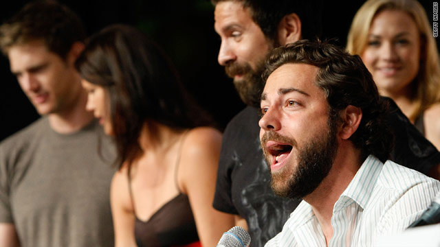 """The cast of """"Chuck"""" announced some major casting news at this year's Comic-Con in San Diego, Callifornia."""
