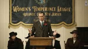 "Steve Buscemi stars in HBO's ""Boardwalk Empire."""