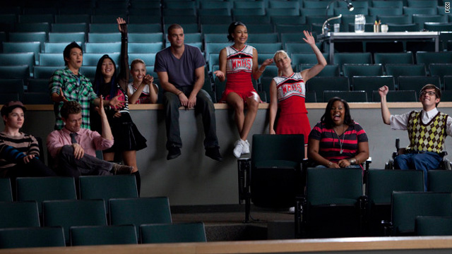 "The first episode of ""Glee"" will feature renditions of Jay-Z's ""Empire State of Mind"" and Lady Gaga's ""Telephone."""