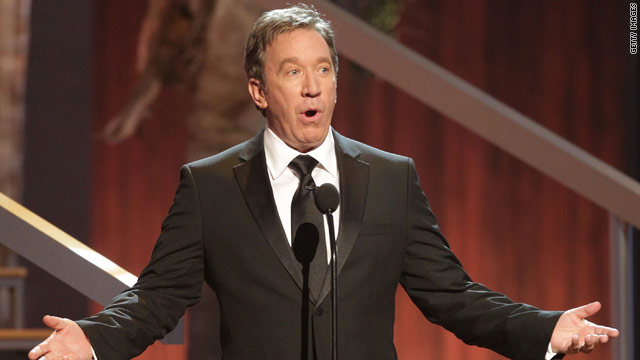 Tim Allen speaks during the TV Land Awards in Culver City, California. Allen might make a return to prime time television.