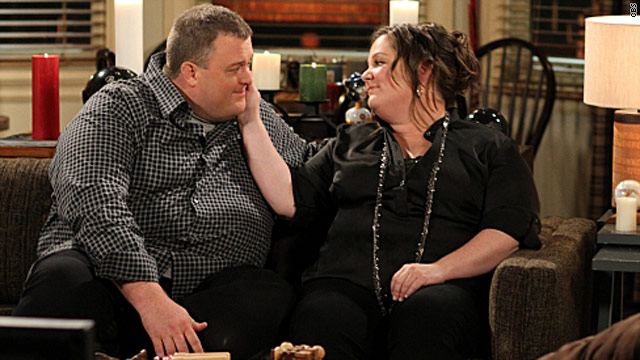 "The CBS comedy ""Mike & Molly"" follows the lives of an overweight couple falling in love."