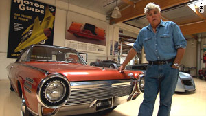 Jay Leno's car that 'runs on tequila'