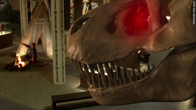 "An ancient beast starts seeing red in Syfy's ""Triassic Attack."""