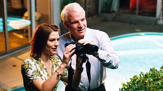 "Steve Martin starred in the movie version of his novella ""Shopgirl"" with Claire Danes."