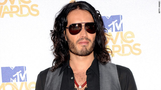 "Russell Brand currently stars in ""Get Him to the Greek."""