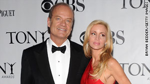 Kelsey Grammer and his wife, Camille Donatacci, are divorcing after 13 years of marriage.
