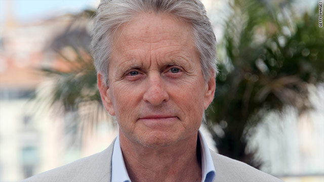 Michael Douglas, 65, has been diagnosed with a tumor in his throat.