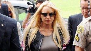 Lindsay Lohan's hearing on drug rehab is set for Wednesday.
