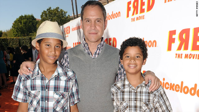 "Brian Robbins credits his two young sons with his involvment in ""Fred: The Movie."""