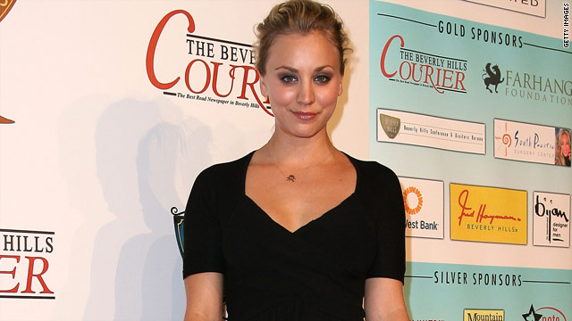"""Big Bang Theory"" actress Kaley Cuoco broke her leg after a fall from a horse."