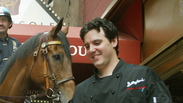 "Joseph Cerniglia, photographed here in 2004, appeared on the Fox reality show, ""Kitchen Nightmares."""