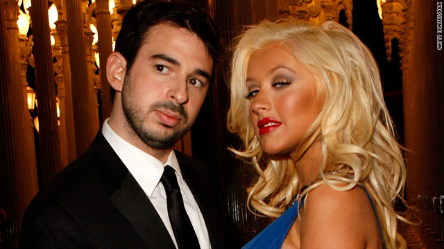 Singer Christina Aguilera is requesting joint legal and physical custody of the couple's toddler son.
