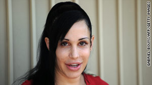 The birth of Nadya Suleman's octuplets last year caused a media firestorm. Now her doctor faces a license hearing.