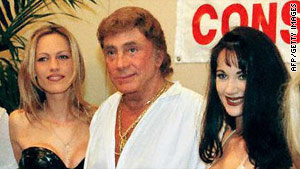 Bob Guccione makes an appearance in 1996 to promote a film project. He was 79.