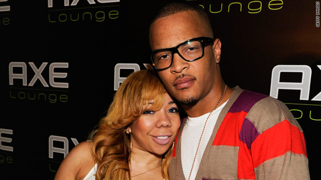 Rapper T.I. and his wife Tiny were arrested two months ago after suspected illegal drugs were found in the couple's car.