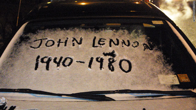 Music legend John Lennon was shot and killed on the night of December 8, 1980.