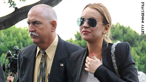 Actress Lindsay Lohan is scheduled to finish court-ordered substance abuse rehab next week.