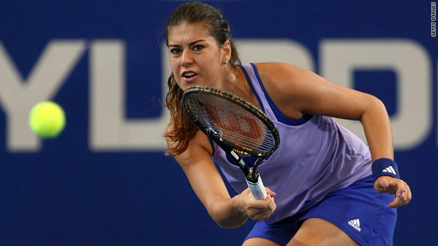 Sorana Cirstea avenged her previous two defeats by Samantha Stosur to give Romania a perfect start.