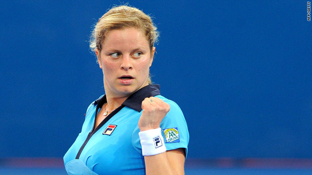 Clijsters began the New Year with a convincing straight sets win in Brisbane.