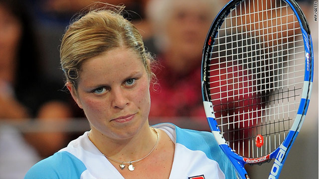 Clijsters is continuing to impress with a second straight sets win in a row in Brisbane.