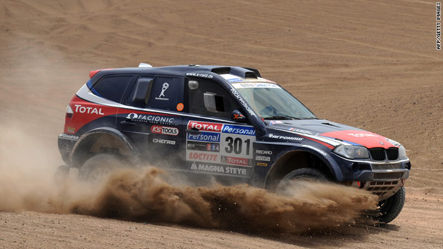 Frenchman Stephane Peterhansel claimed his 20th car win, and 53rd overall, in the sixth stage of the Dakar rally.