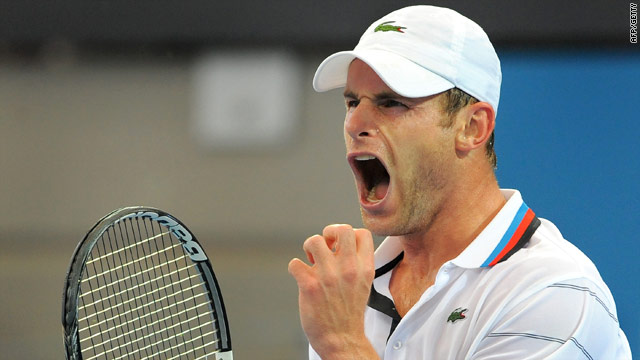 A pumped up Roddick showed he is running into form ahead of the Australian Open.
