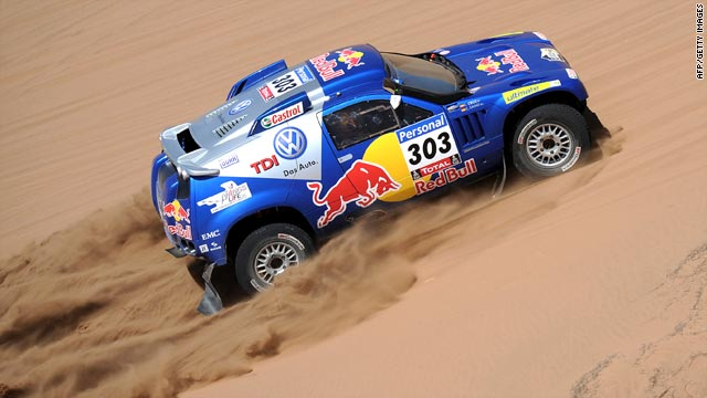 Two-time world rally champion Carlos Sainz is seeking his first overall victory in the Dakar race.