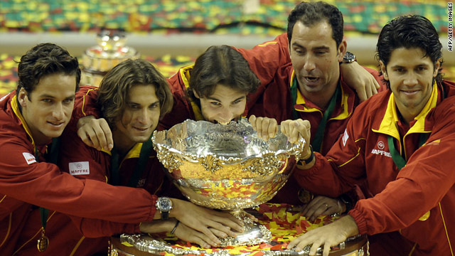 Spain won last year's Davis Cup, but the future of the competition is now under severe threat.