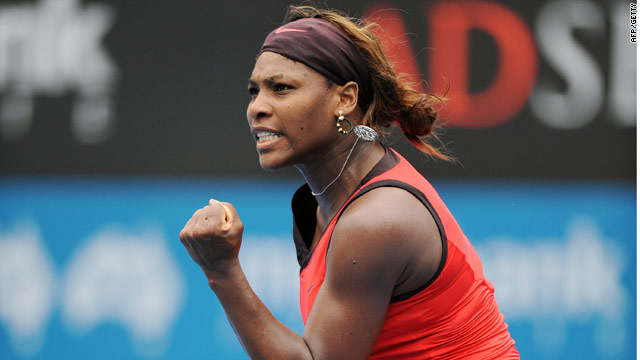 Serena was a game away from defeat before she fought back in fine style in Sydney.