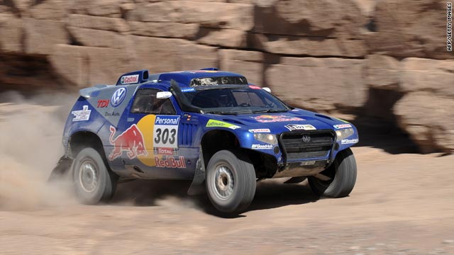 Carlos Sainz will try to hang onto his lead and claim his first victory in the annual Dakar endurance event.