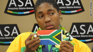 The IAAF is yet to release results of Semenya's gender test.