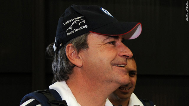 Carlos Sainz made up for his disappointment of last year, when he crashed out late in the race while leading.