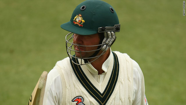 Ricky Ponting just missed out on another Test century but Australia are edging towards a 3-0 series victory over Pakistan.