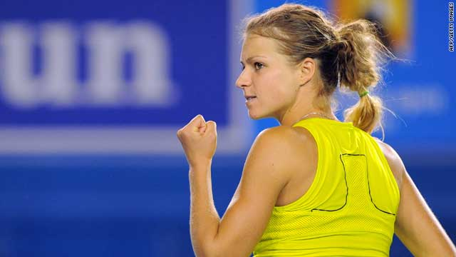 Maria Kirilenko created the first shock of this year's Australian Open with an epic victory over fellow-Russian Maria Sharapova.