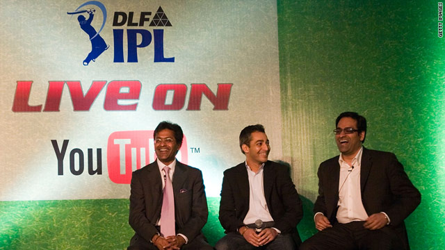 Indian Premier League organizers confirm the completing of a unique deal with Google India.